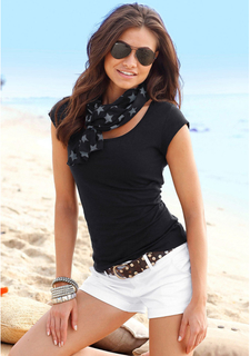 Комплект: кофточка + шарф BEACH TIME