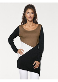 Удлиненный пуловер Ashley Brooke