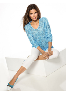 Ажурный пуловер Ashley Brooke