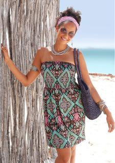 Платье-бандо Lascana
