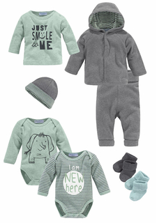 Комплект для младенца, 8 частей KLITZEKLEIN