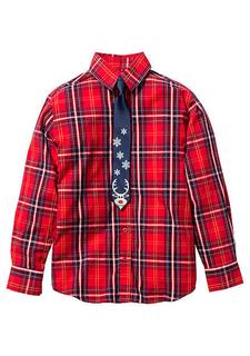Комплект: рубашка + галстук
