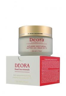 Крем антивозрастной увлажняющий и матирующий Deora Cosmetics