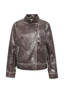 Куртка кожаная Adzhedo