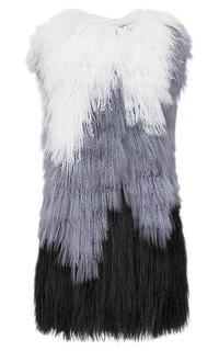 Жилет из меха тибетской овцы Virtuale Fur Collection