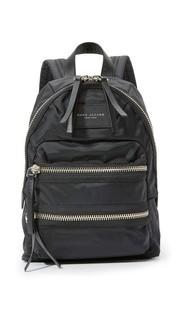 Миниатюрный нейлоновый рюкзак в байкерском стиле Marc Jacobs