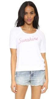 Топ Sunshine с короткими рукавами Sundry