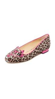 Балетки Pretty in Pink Kitty Charlotte Olympia