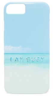 I Am Busy Balloons iPhone 7 Case Gray Malin