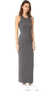 Макси-платье без рукавов с карманом James Perse
