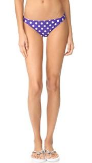 Классические плавки бикини в горошек Kate Spade New York