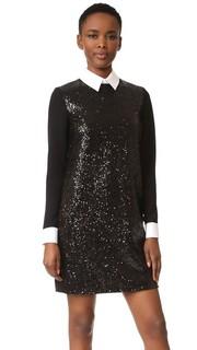 Свободное платье с длинными рукавами Victoria Victoria Beckham