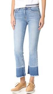Расклешенные джинсы Jane Flip Flop со средней посадкой Derek Lam 10 Crosby