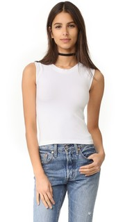 Cropped Seamless Muscle Tank Free People