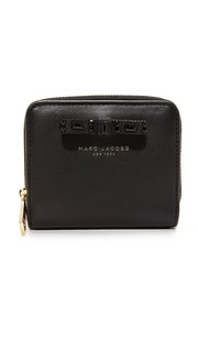 Bow Lil Zip Around Wallet Marc Jacobs
