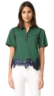 Embroidered Polo Tee 3.1 Phillip Lim