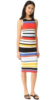 Платье в полоску Jenner Alice + Olivia