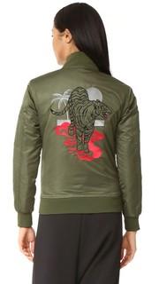 Летная куртка-бомбер Love Junkie Chrldr