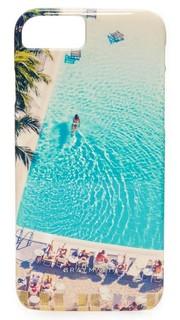 Swimming Pool iPhone 7 Case Gray Malin