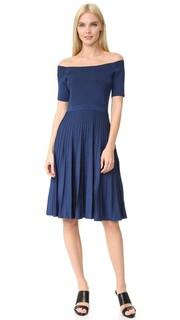 Трикотажное платье с короткими рукавами Jason Wu