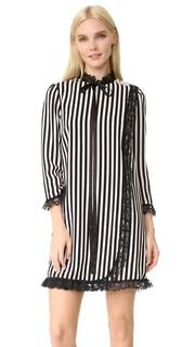 Платье-комбинация в полоску Marc Jacobs