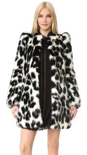 Пальто из искусственного меха Marc Jacobs