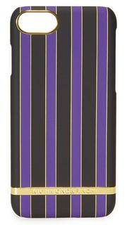 Чехол для iPhone 7 в полоску цвета асаи Richmond & Finch
