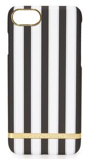 Полосатый чехол Sharkskin для iPhone 7 Richmond & Finch