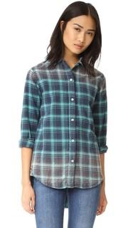 Объемная рубашка с эффектом поношенности Sundry