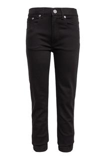 Хлопковые брюки Burberry Children