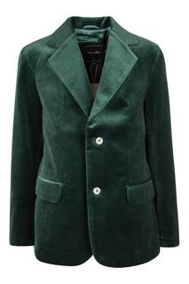 Велюровый пиджак Oscar de la Renta Children