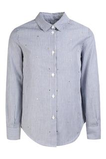 Хлопковая рубашка Ermanno Scervino Chirdren
