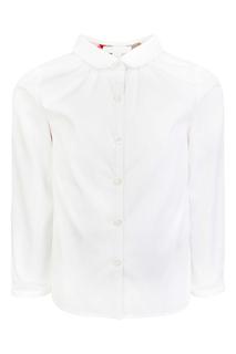 Хлопковая блузка Burberry Children