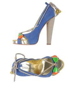 Туфли с открытым носком Dsquared2