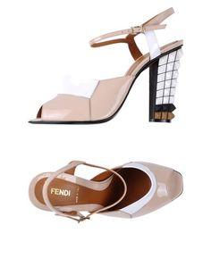 Босоножки на каблуке Fendi
