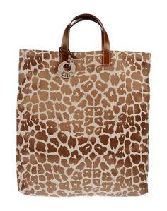 Большая сумка из текстиля Fendi