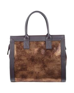 Большая кожаная сумка Enrico Fantini