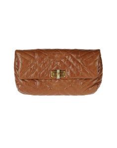 Средняя кожаная сумка Lanvin
