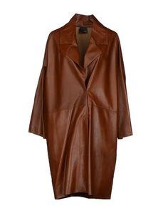 Верхняя одежда из кожи Fendi