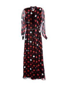 Длинное платье MCQ Alexander Mcqueen