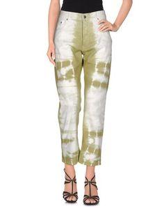 Джинсовые брюки MM6 BY Maison Margiela