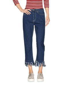 Джинсовые брюки-капри Please