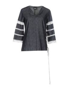 Джинсовая рубашка PF Paola Frani