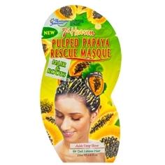 MONTAGNE JEUNESSE Маска для тусклых и безжизненных волос с мякотью папайи 25 мл