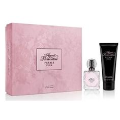AGENT PROVOCATEUR Подарочный набор Fatale Pink Парфюмерная вода, спрей 50 мл + Лосьон для тела 100 мл