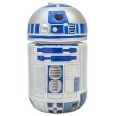 DISNEY Гель для душа-пена для ванны для детей герои Star Wars Дроид R2D2 100 мл