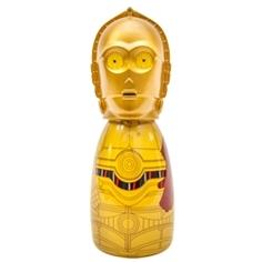 DISNEY Гель для душа-пена для ванны для детей герои Star Wars Дроид C3PO 100 мл