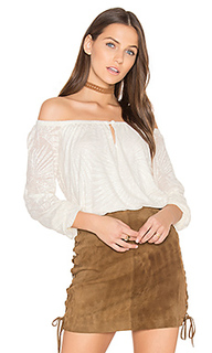 Paradise crochet off the shoulder top - twenty