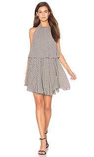 Etienne layered high neck mini dress - Shona Joy