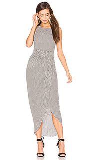 Etienne high neck ruched maxi dress - Shona Joy